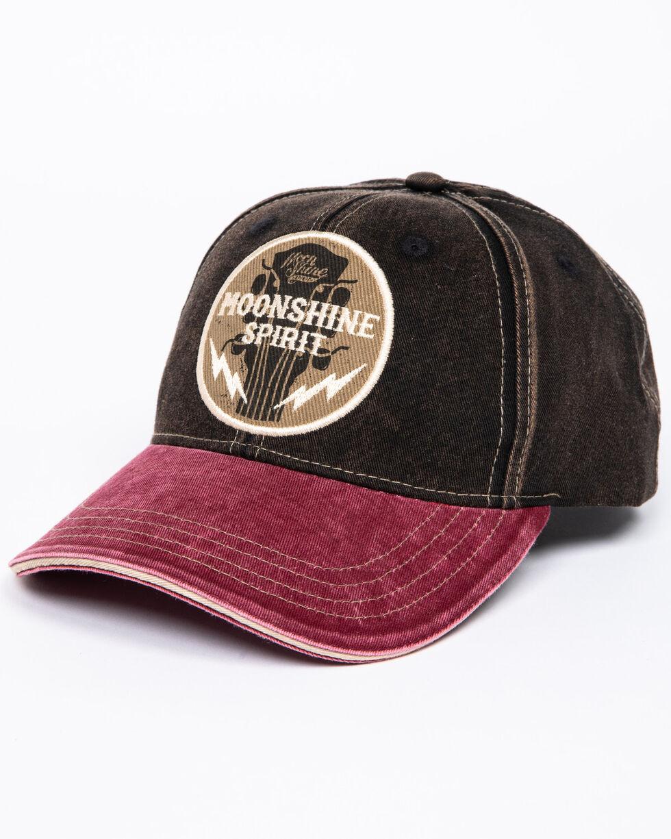 Moonshine Spirit Men's Guitar Logo Cap, Black, hi-res