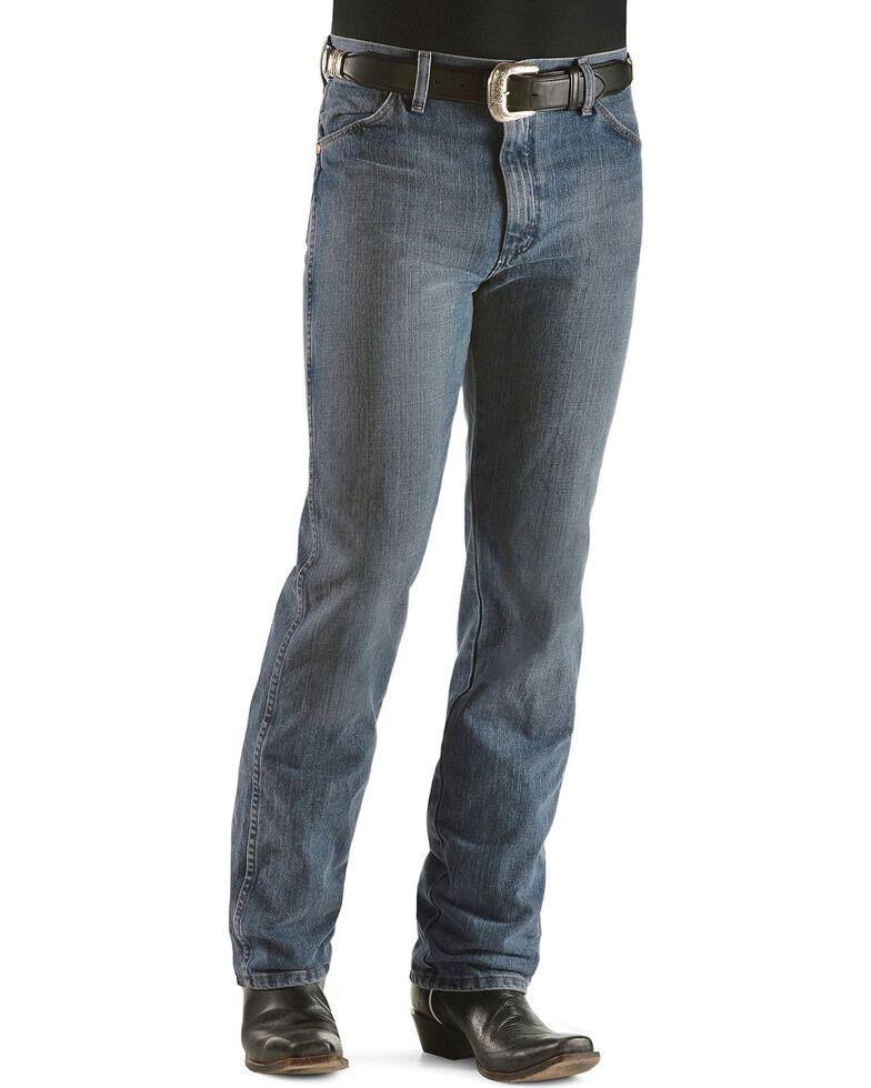 Wrangler Men's Cowboy Cut Slim Fit Jeans, Rough Stone, hi-res