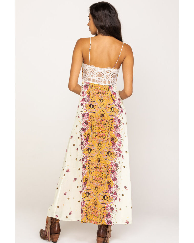 Free People Women's Morning Song Maxi Dress, Ivory, hi-res