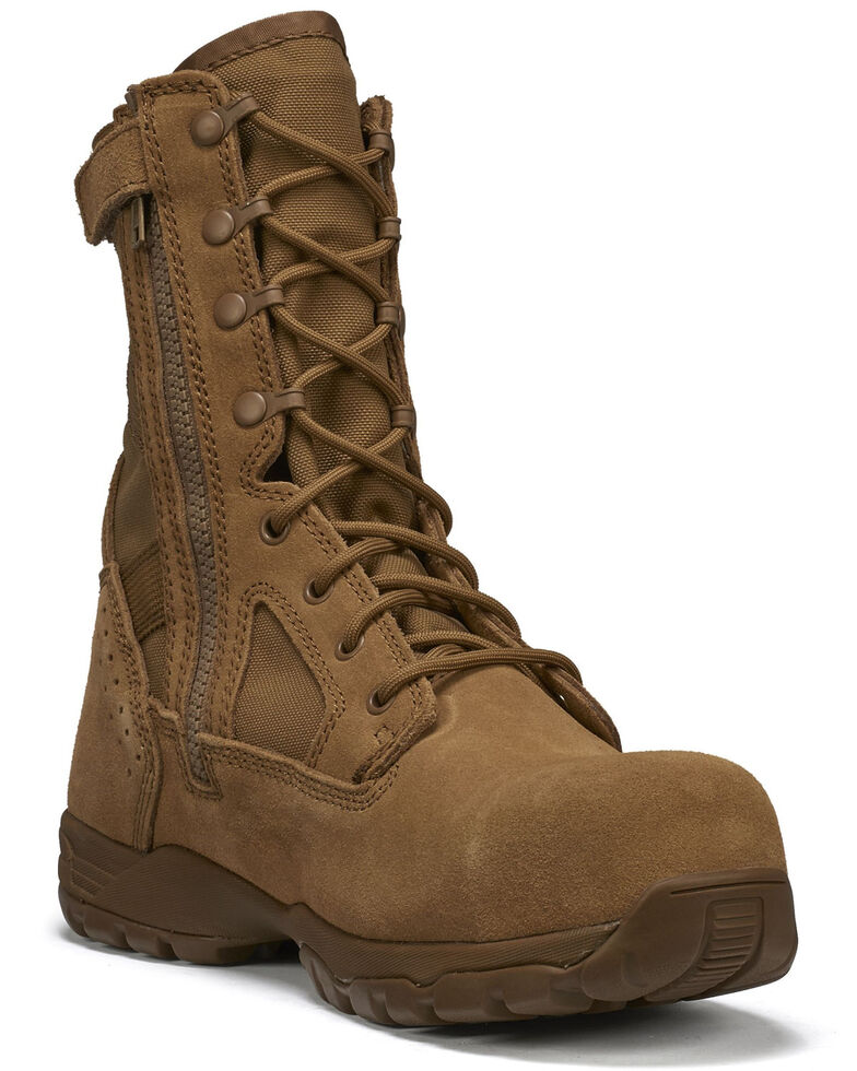 Belleville Men's TR Flyweight Hot Weather Military Boots - Composite Toe, Coyote, hi-res