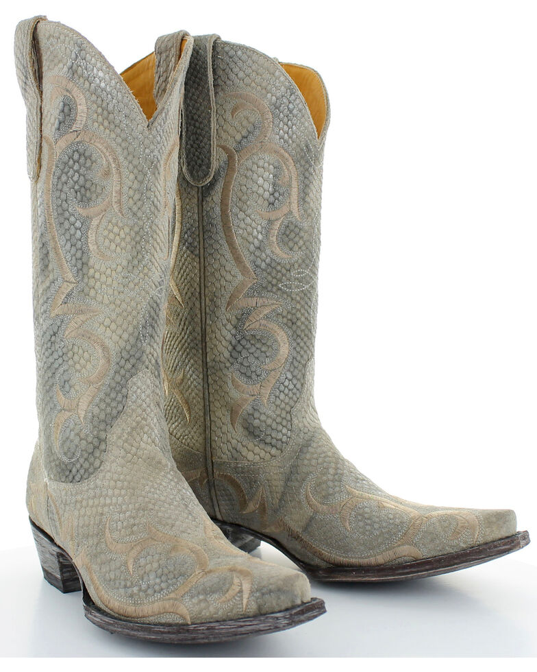 Old Gringo Women's Dolly Cowgirl Boots - Snip Toe , Beige/khaki, hi-res
