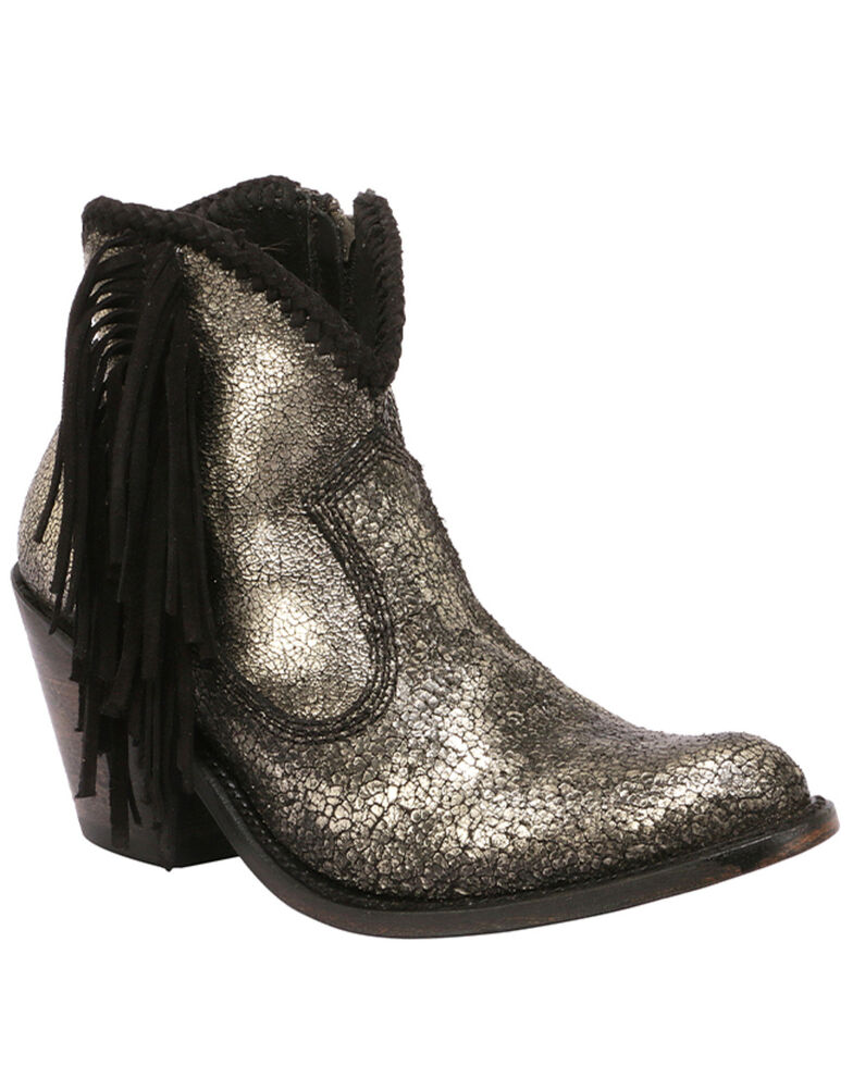 Liberty Black Women's Platino Fashion Booties - Round Toe, Black, hi-res