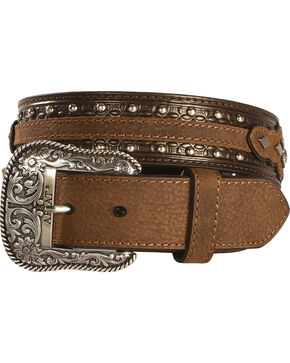 Ariat Men's Austin Leather Belt, Black, hi-res