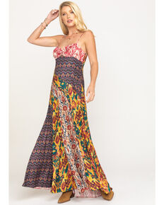 Free People Women's Holiday Hero Dress , Multi, hi-res