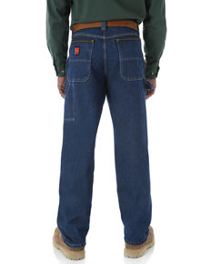 Wrangler Riggs Men's Relaxed Carpenter Work Jeans - Big  , Blue, hi-res