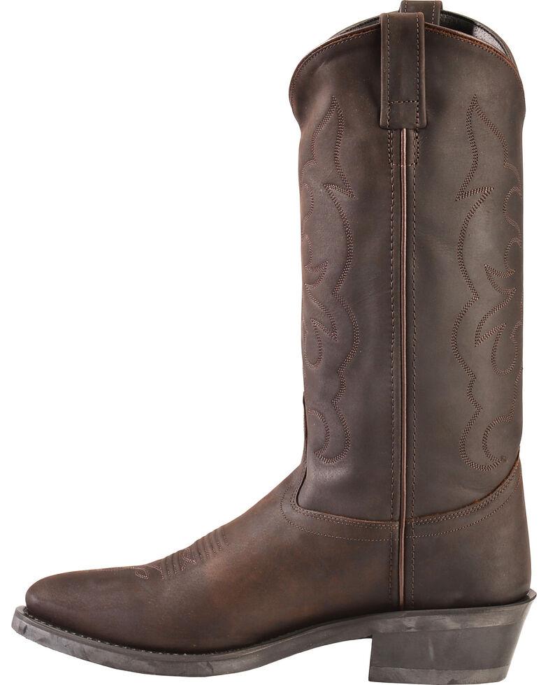 "Jama Men's Trucker Cowboy 13"" Work Boots, Distressed, hi-res"