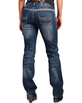 Cowgirl Tuff Trailblazer Boot Cut Jeans, Indigo, hi-res