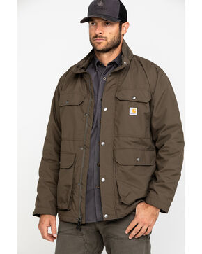 Carhartt Men's Grey Utility Coat , Dark Grey, hi-res