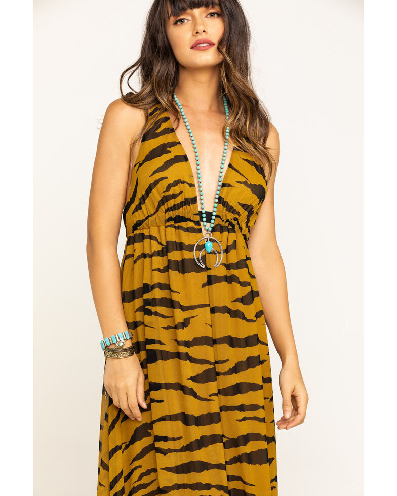 Show Me Your Mumu Women's Great Tiger Ellory Maxi Dress, Multi, hi-res