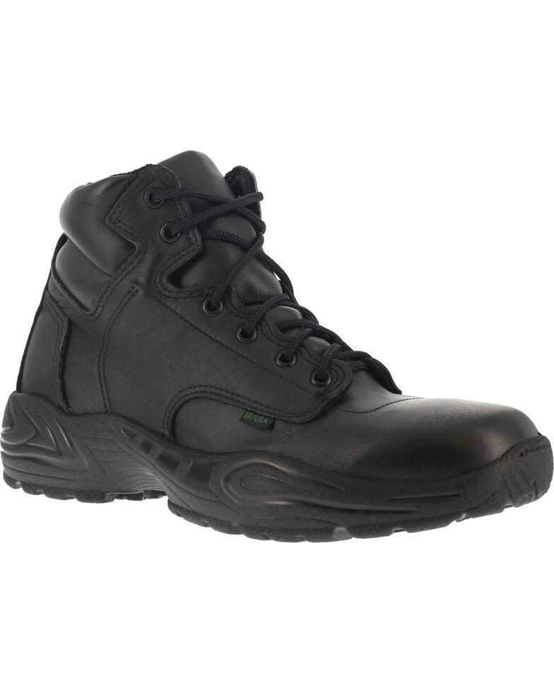 """Reebok Men's 6"""" Postal Express Work Boots - USPS Approved, Black, hi-res"""