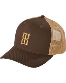 Bex Men's Icon Logo Snap-Back Ball Cap, Brown, hi-res