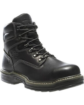 "Wolverine Men's 6"" Raider Contour Welt Steel Toe Work Boot, Black, hi-res"