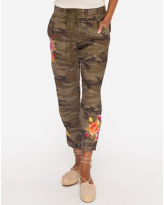 Johnny Was Women's Camo Vella Jogger Pants , Camouflage, hi-res