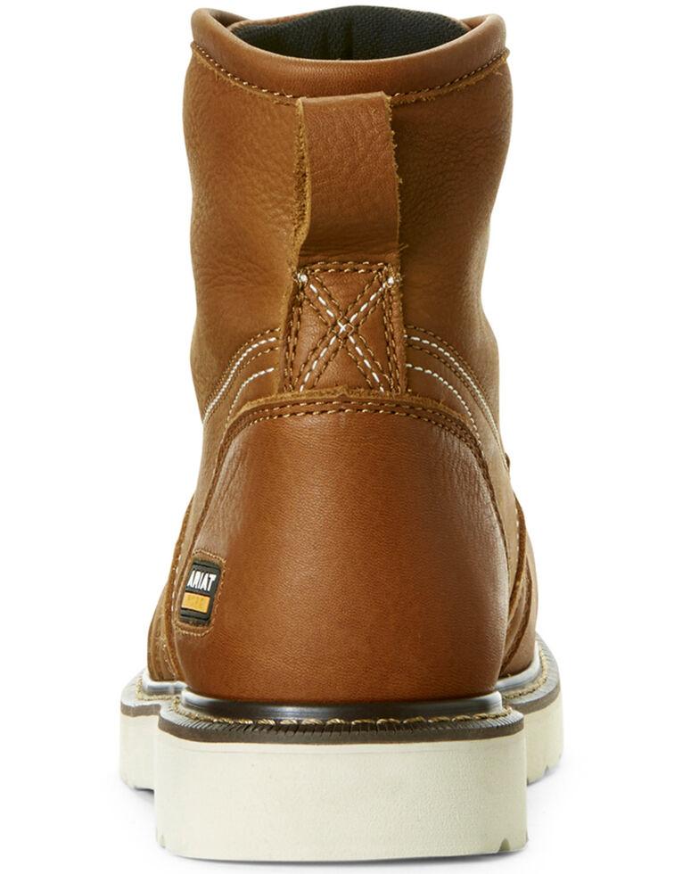 05cf6c58440 Ariat Men's Rebar Wedge Full-Grain Leather Work Boots - Composite Toe