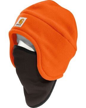 Carhartt High-Visibility Color Enhanced 2-in-1 Headwear, Orange, hi-res