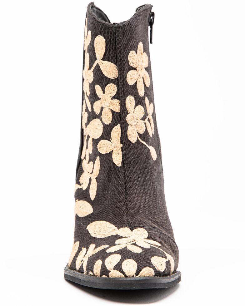 Free People Women's Combo Barclay Fashion Booties - Round Toe, Black, hi-res