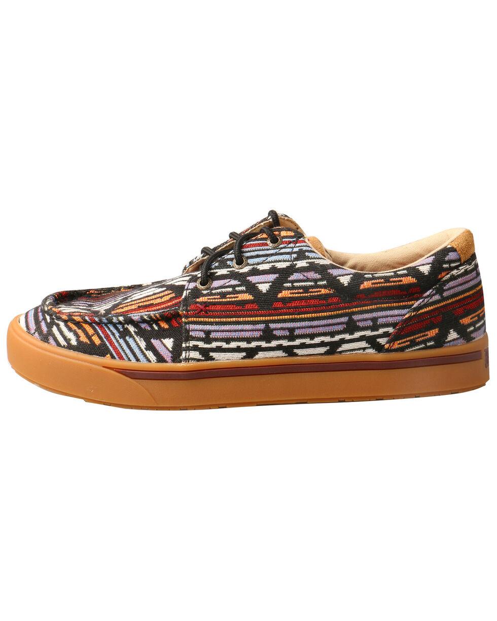 Twisted X Men's Aztec Hooey Loper Shoes - Moc Toe, Multi, hi-res