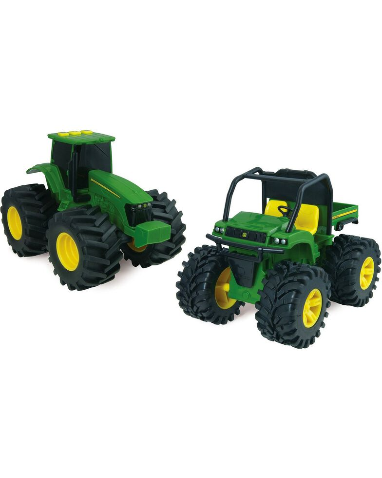 "John Deere Lights & Sounds 6"" Monster Treads XUV Gator Vehicle, Green, hi-res"