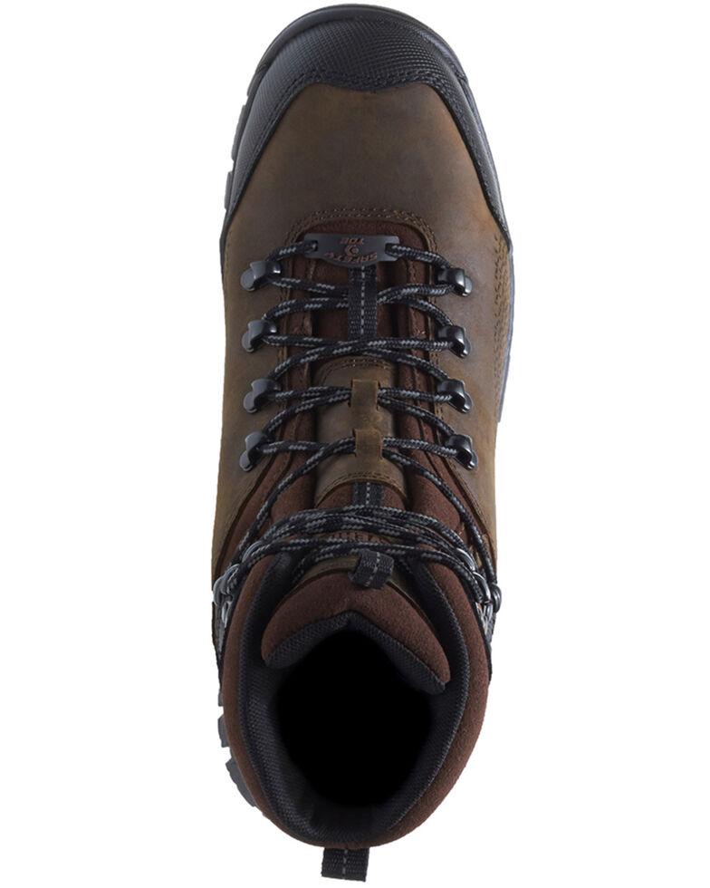 Wolverine Men's Glacier Xtreme Waterproof Work Boots - Composite Toe, Brown, hi-res