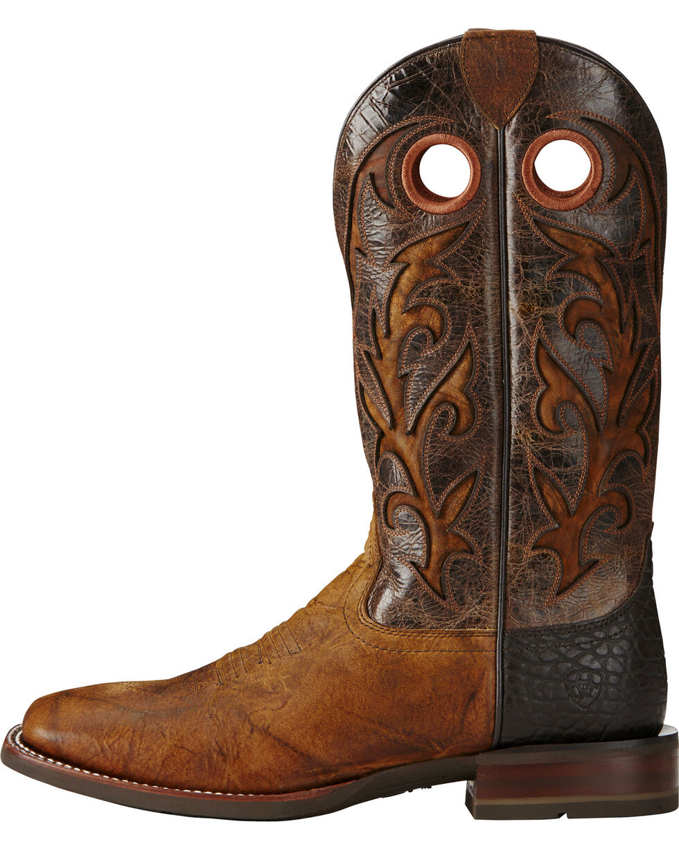 Ariat Copper Barstow Cowboy Boots - Square Toe, Copper, hi-res