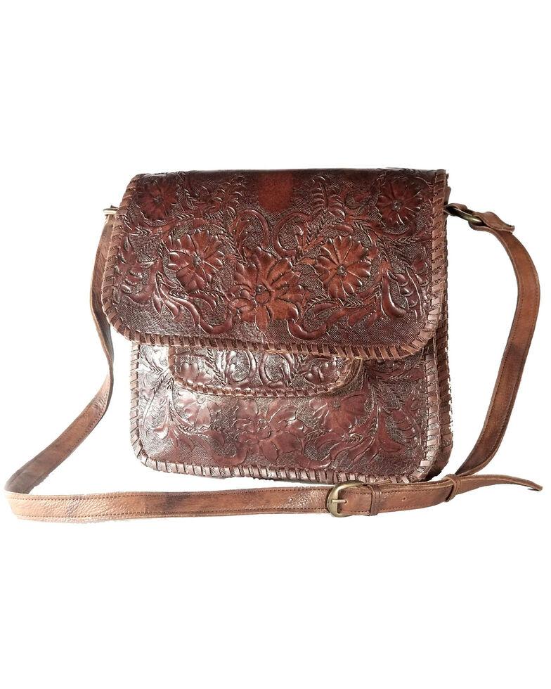 Kobler Leather Women's Sitka Crossbody Bag, Dark Brown, hi-res