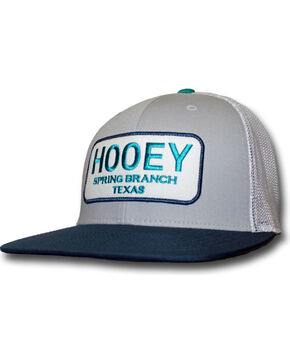 Hooey Men's Texas Baseball Cap, Grey, hi-res