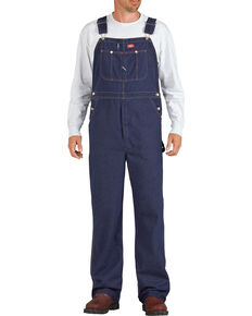 Dickies Indigo Denim Work Overalls, Indigo, hi-res