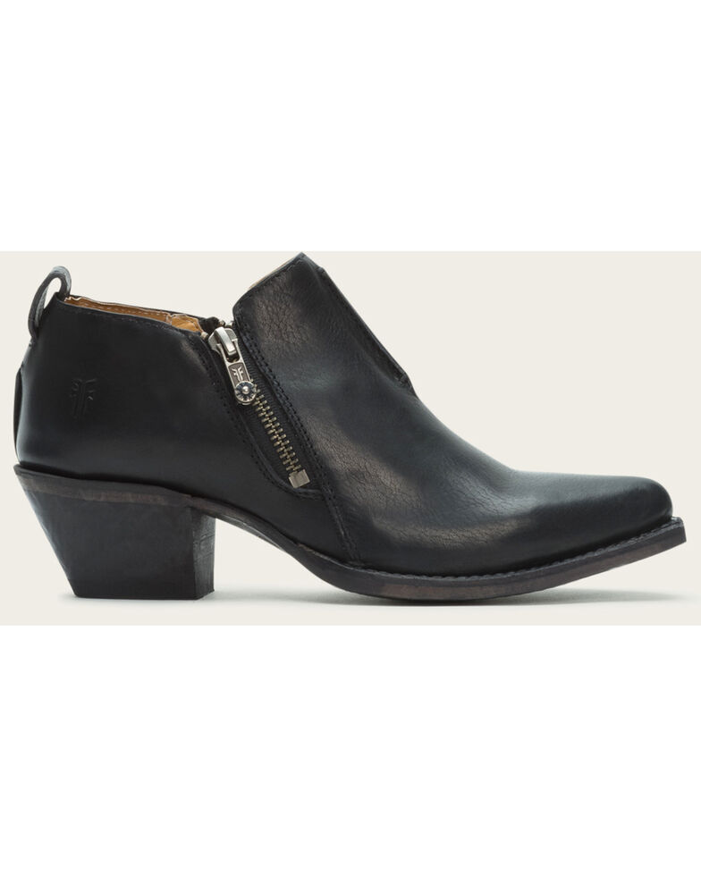 Frye Women's Sacha Moto Shooties - Pointed Toe , Black, hi-res