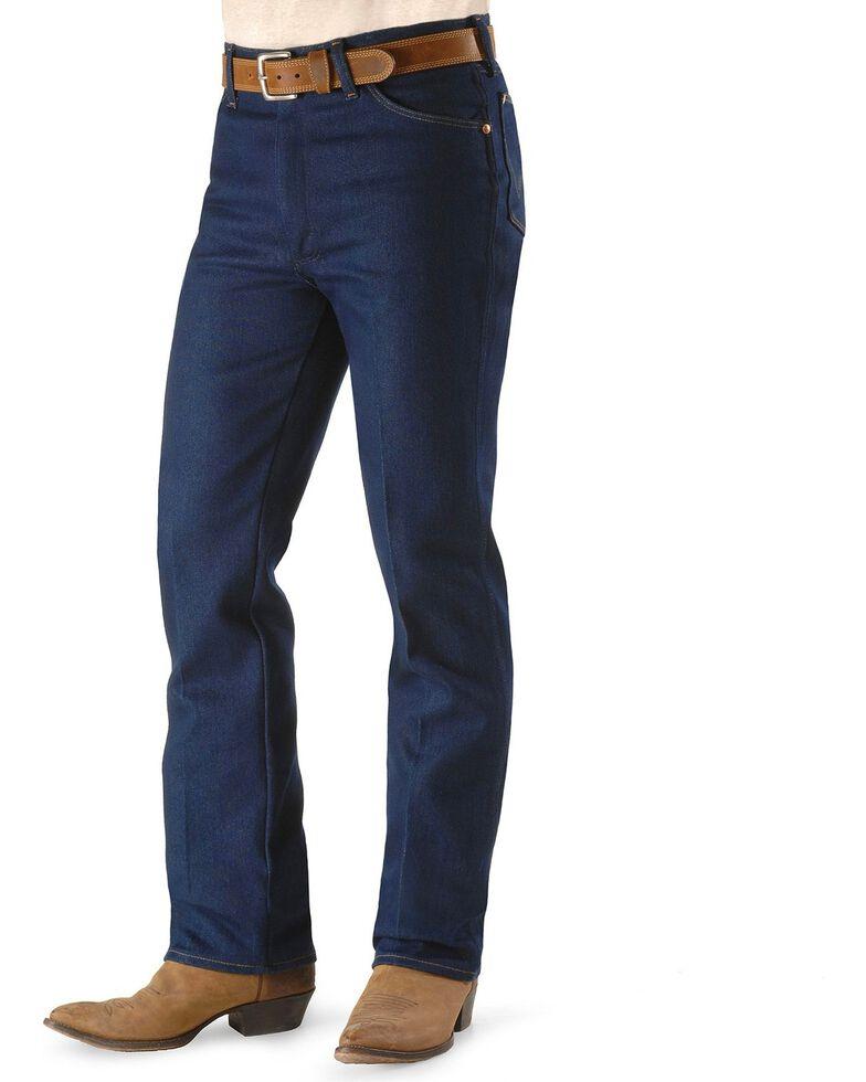 Wrangler Men's Cowboys Cut Stretch Regular Fit Jeans, Indigo, hi-res