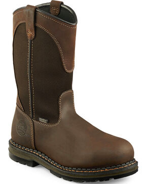 Irish Setter by Red Wing Shoes Men's Ramsey Work Boots - Soft Round Toe , Brown, hi-res