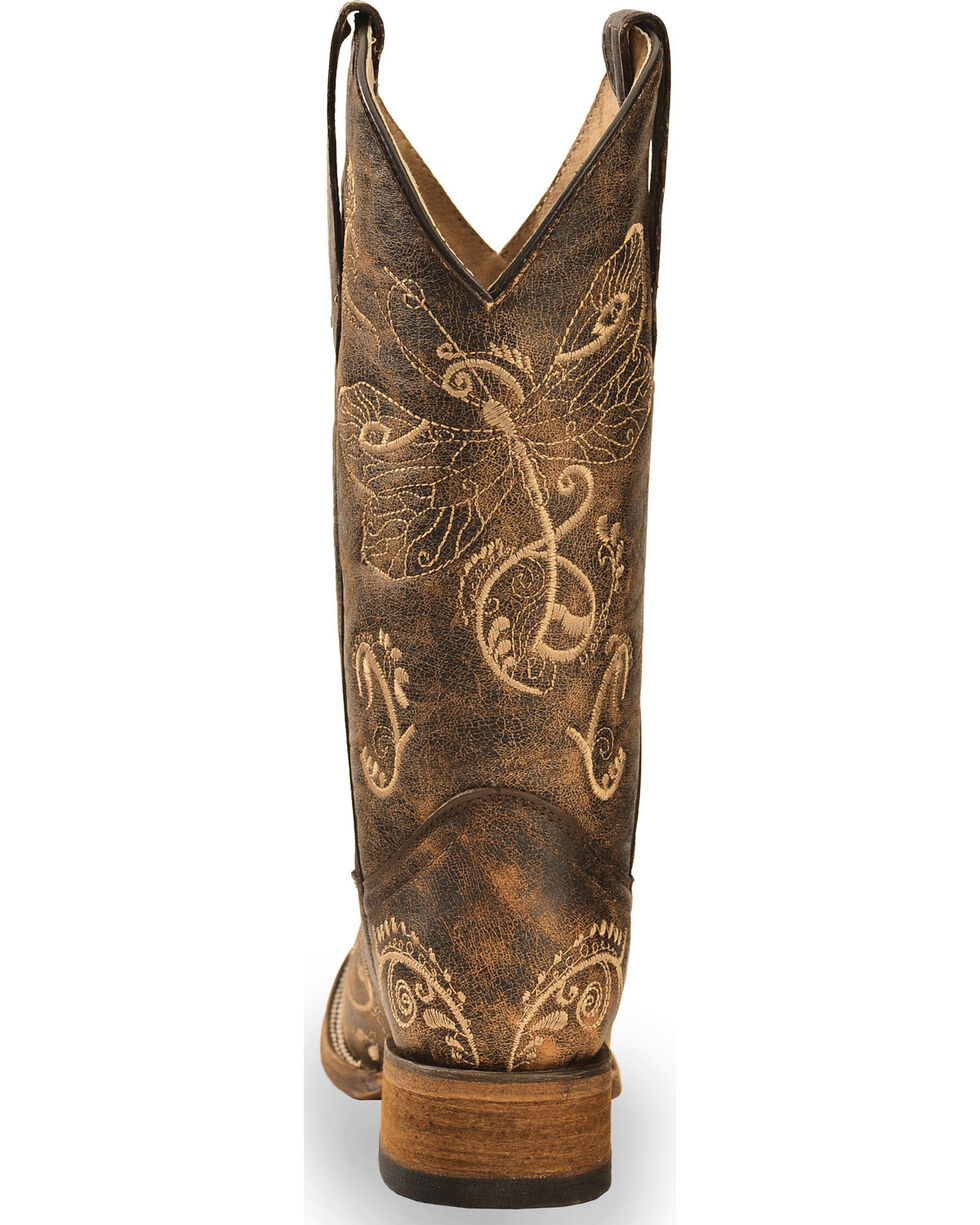 Fashion Boots. Cowgirl Boots Bohemian Boots Custom Boots Casual Boots Vegan Leather Beige Dragonfly Mandala Womens Boots Combat Boots
