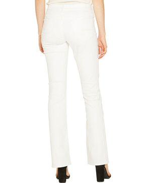 Silver Women's White Stretch Denim - Boot Cut, White, hi-res