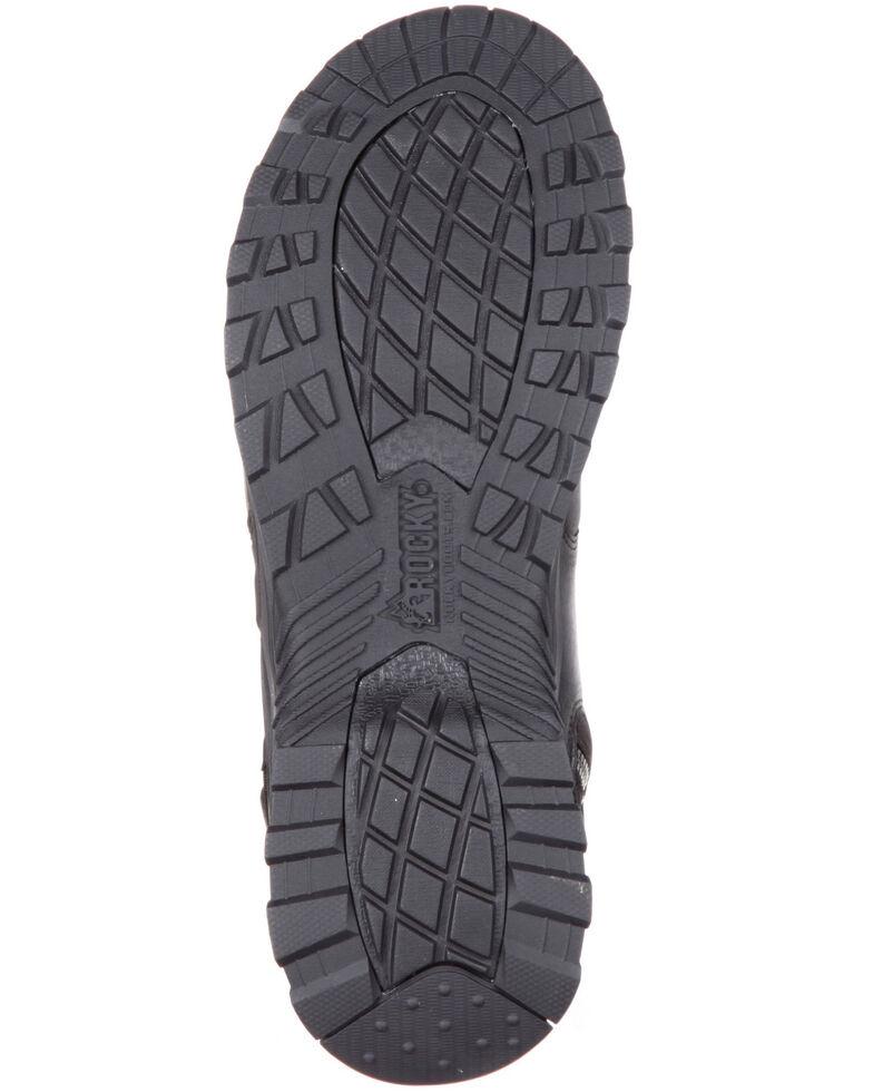 Rocky Men's Alpha Tac Waterproof Hiker Boots - Round Toe, Black, hi-res