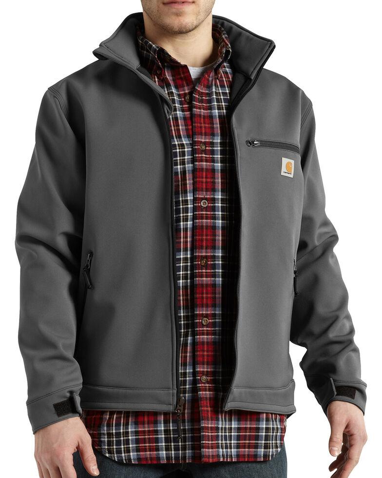 Carhartt Men's Crowley Work Jacket, Charcoal Grey, hi-res