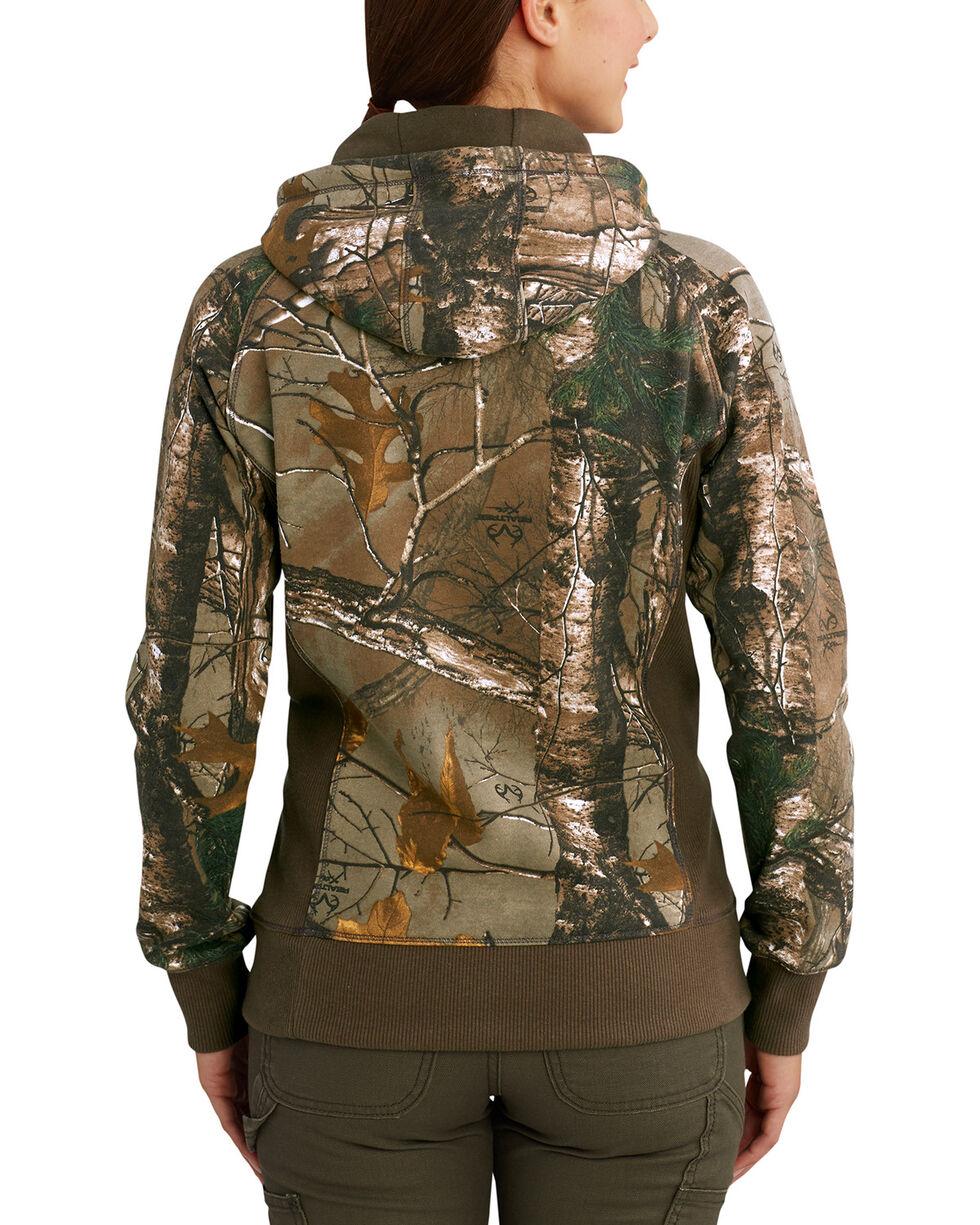 Carhartt Women's Avondale Camo Pullover Sweatshirt , Camouflage, hi-res