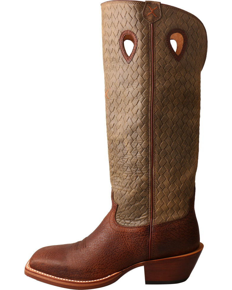 b39950ab4d4 Twisted X Men's Tall Basketweave Buckaroo Cowboy Boots - Square Toe