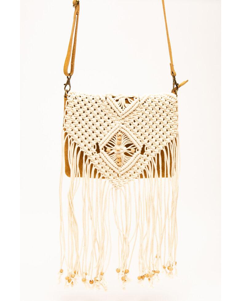 Shyanne Women's Macrame Shoulder Bag, Natural, hi-res