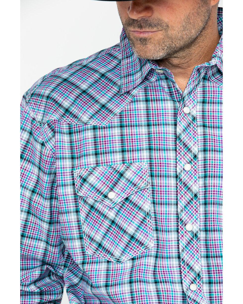Wrangler 20X Men's Purple Competition Advanced Comfort Long Sleeve Shirt , Purple, hi-res