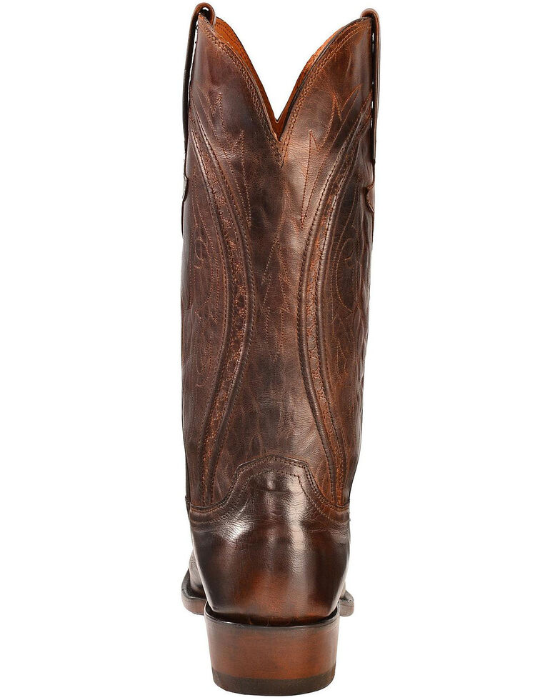 Lucchese Men's Clint Heirloom Mad Dog Western Boots, Peanut Brittle, hi-res