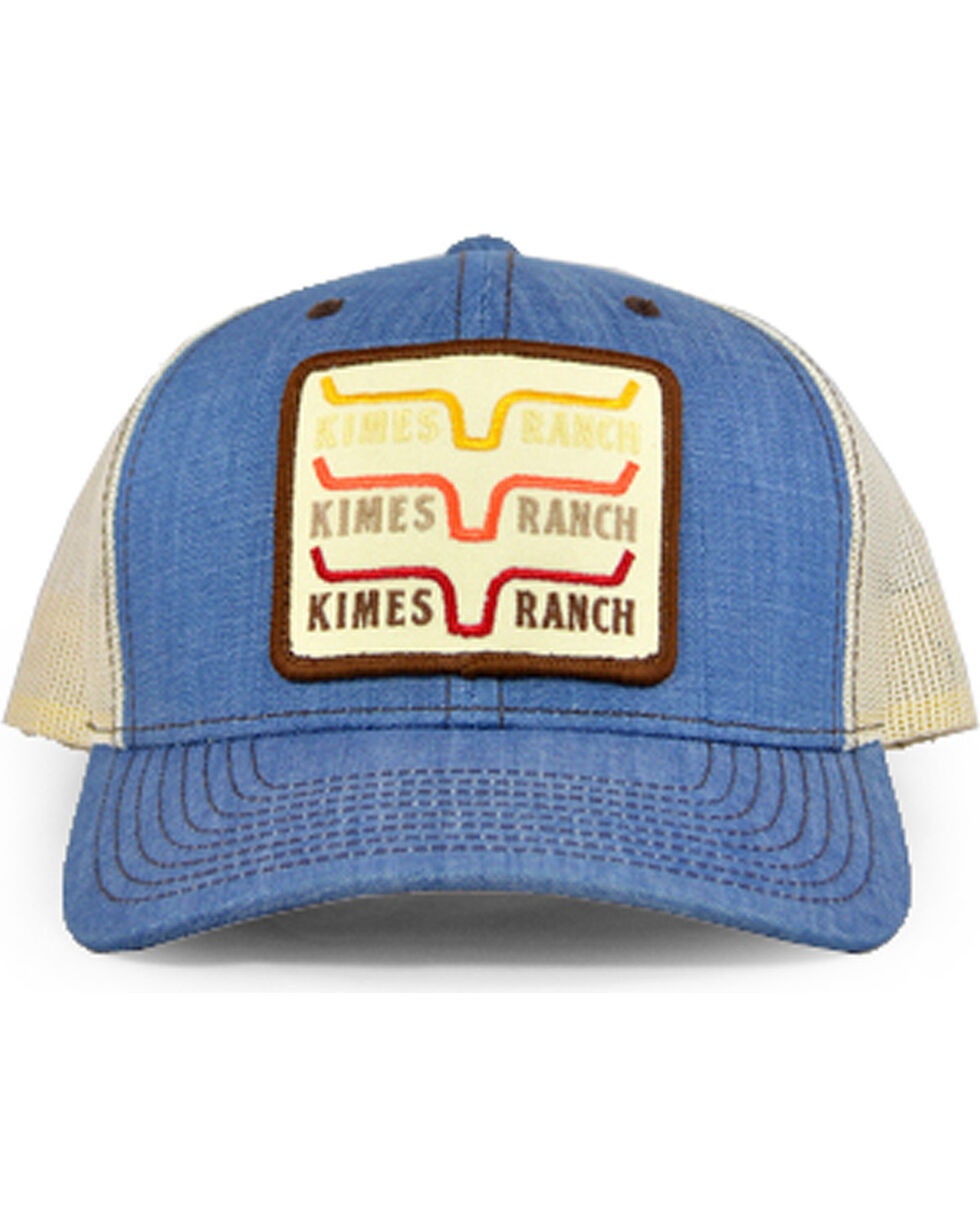 Kimes Ranch Men's Blue 1978 Trucker Cap , Light Blue, hi-res