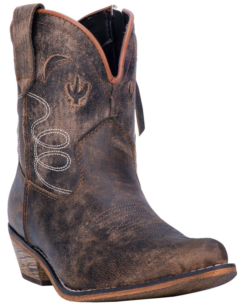 Dingo Women's Adobe Rose Western Boots - Medium Toe, Taupe, hi-res
