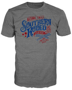 Bullseye Ventures Men's Southern Rodeo T-Shirt , Heather Grey, hi-res