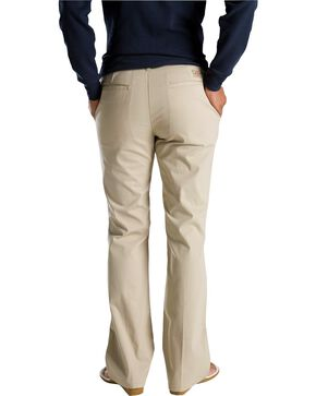 Dickies Women's Flat Front Stretch Twill Pants, Khaki, hi-res