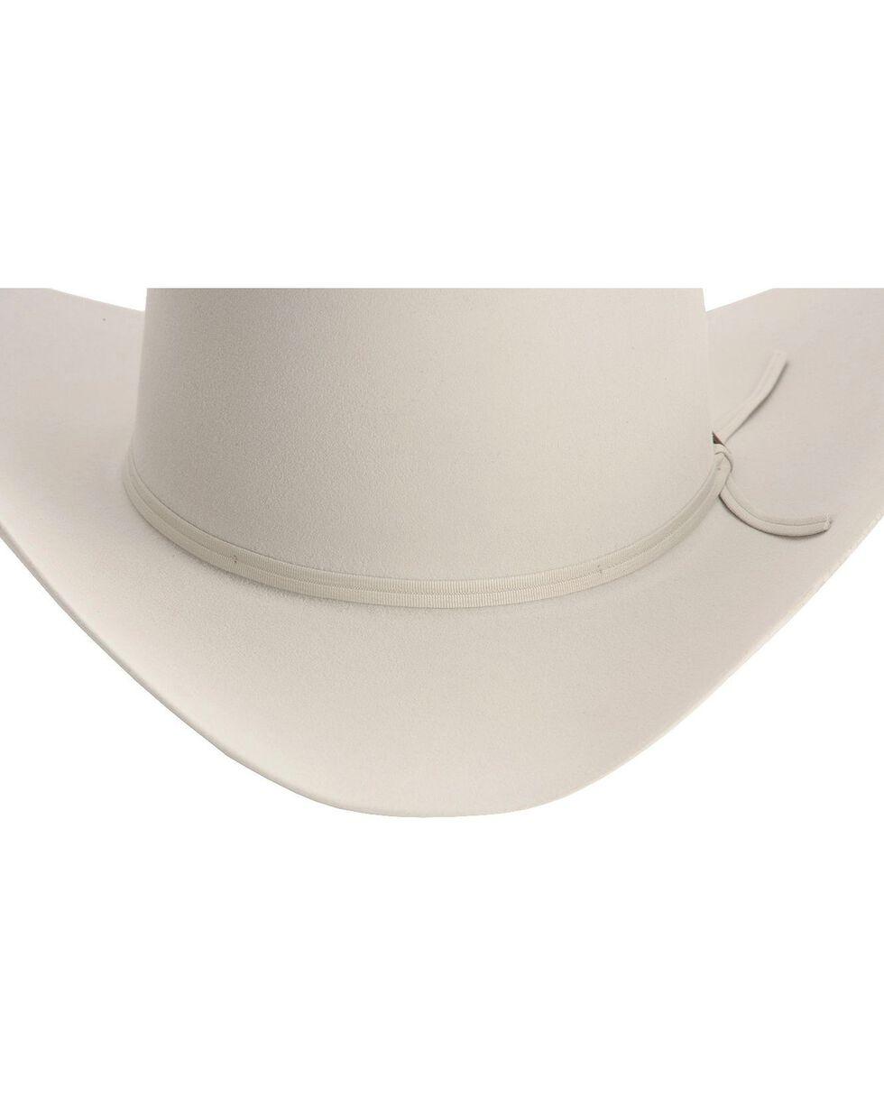Larry Mahan 4X Ridgetop Fur Felt Cowboy Hat, Platinum, hi-res