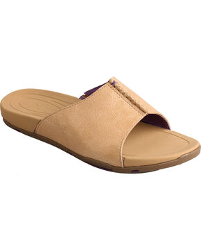 Twisted X Women's Beige Sandals, Beige, hi-res