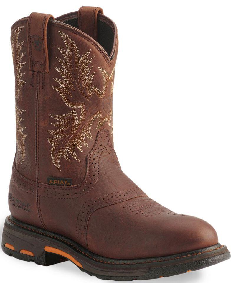 c3b3679e6f6 Ariat Men's Workhog H2O Composite Toe Western Work Boots
