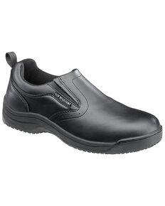 SkidBuster Men's Slip Resistant Slip-On Shoes, Black, hi-res
