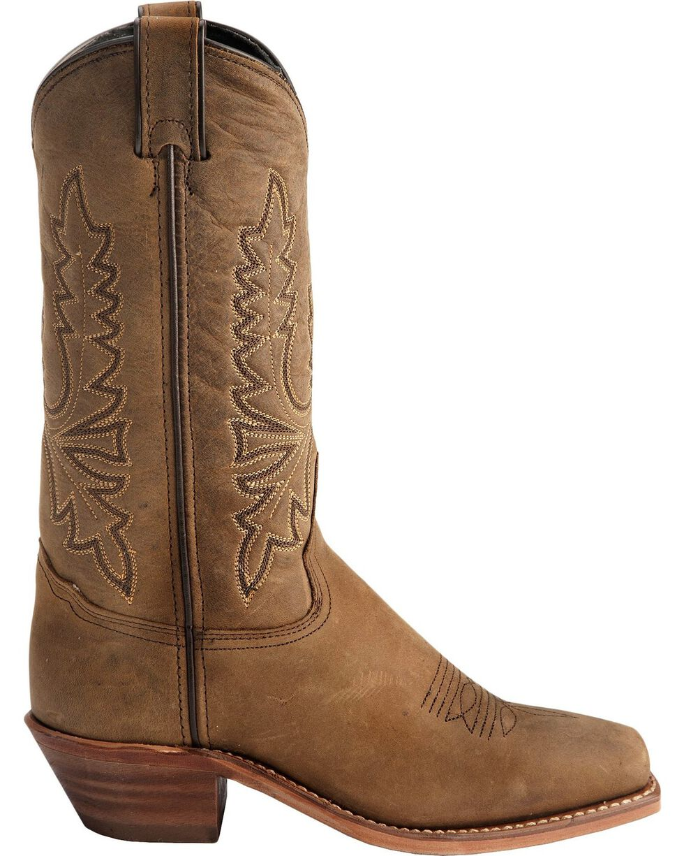 "Abilene Women's 11"" Western Boots, Olive, hi-res"
