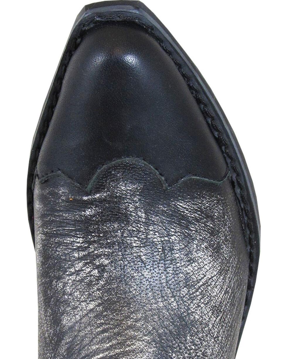 Smoky Mountain Boys' Preston Western Boots - Snip Toe, Black, hi-res