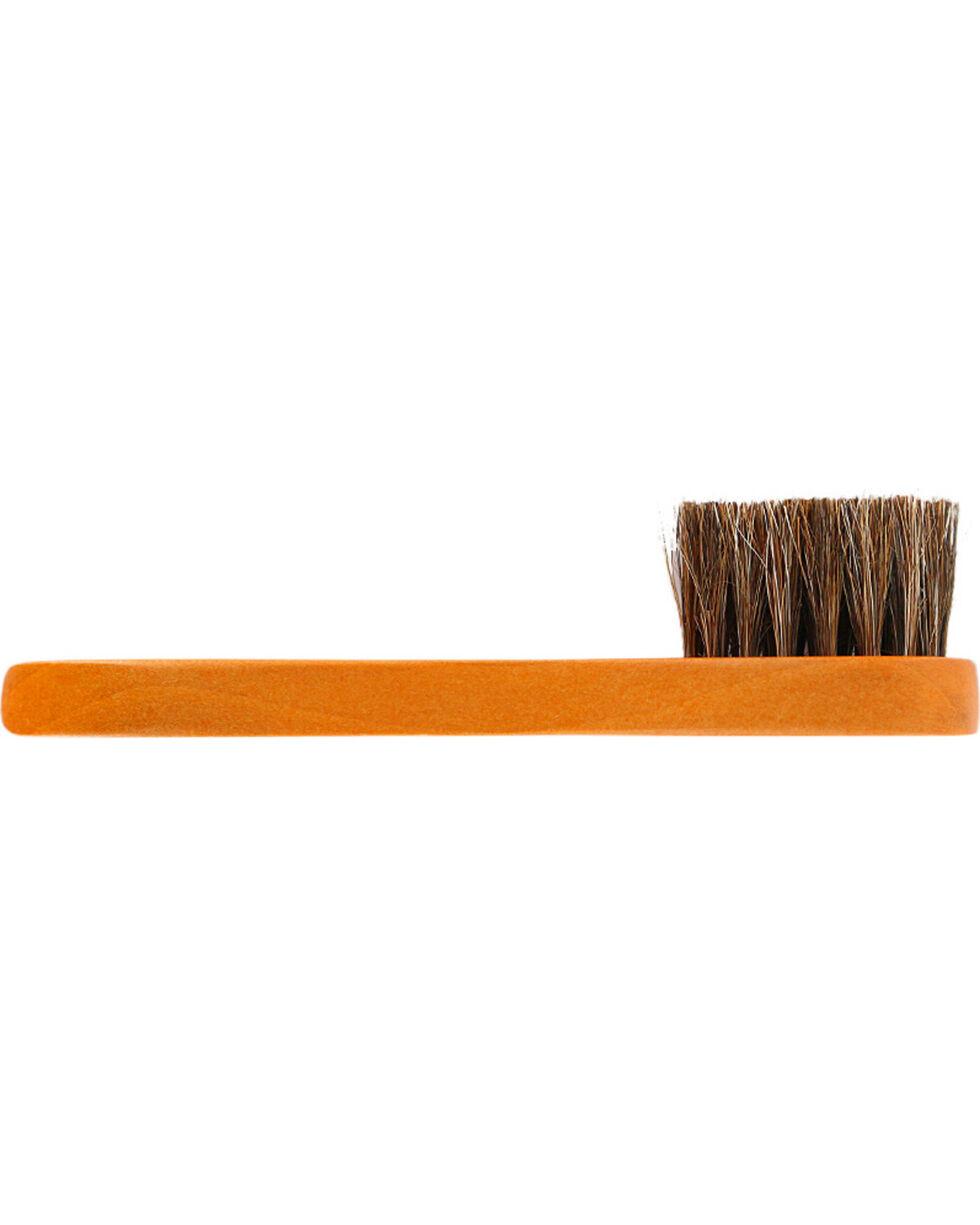 Boot Barn® Horse Hair Boot Buffing Brush, Brown, hi-res
